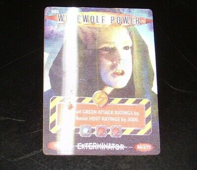 Doctor Who Trading Card Werewolf Power  Number 86  Ultra  Rare