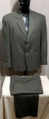 Size 38 ANDRE J (aus) mens wool 2 button suit green new unworn office business