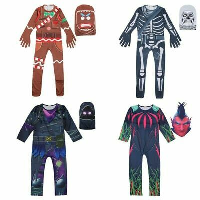 Kids Boys Costume Cosplay Halloween Fancy Dress Party Jumpsuit Outfits