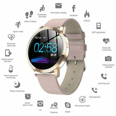 Women Men Fashion Bluetooth Smart Watch Waterproof Heart Rate for iOS Android UK