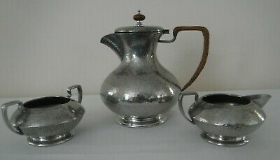 LIBERTY & Co TUDRIC Pewter Coffee Set by Archibald Knox & William Hair Haseler