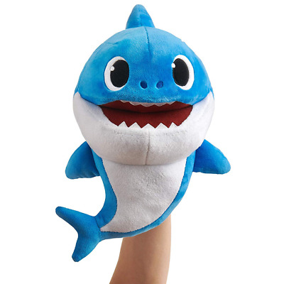 WowWee Pinkfong Baby Shark Official Song Puppet - Daddy Shark -Plush Toy