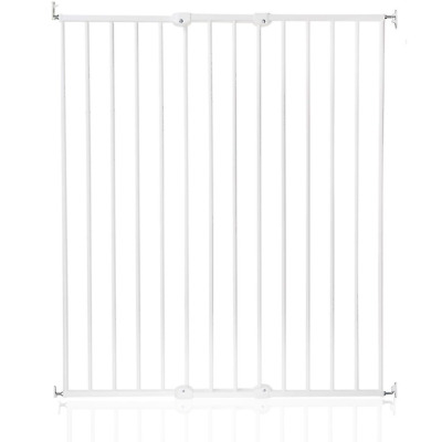 Safetots Extra Tall Screw Fitted Pet Safety Gate, White