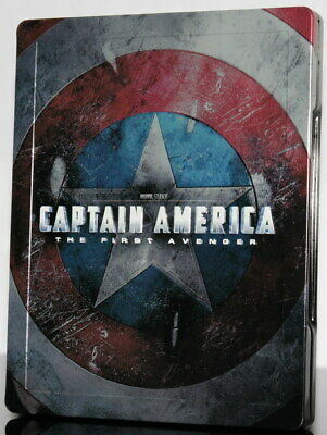 CAPTAIN AMERICA - First Avenger -- limited STEELBOOK -- Blu-ray + DVD -- OOP
