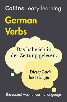 Easy Learning German Verbs by Collins Dictionaries 9780008158422 | Brand New