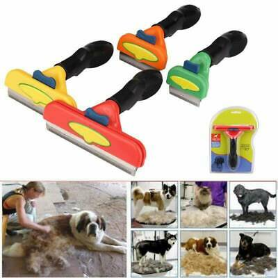 Fur Pet Hair Lint Remover Magic Wizard Self-Cleaning Dog Cat Grooming Brush Comb
