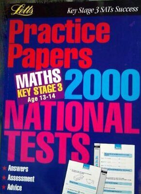 Key Stage 3 National Tests Practice Papers: Mathematics, , Used; Good Book