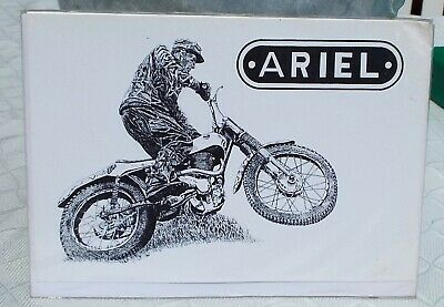 A5 size Greeting Card Sammy Miller/'s Ariel HT5 Trials Bike GOV 132