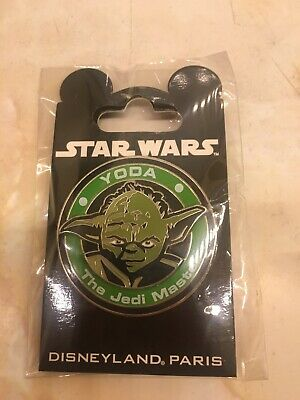 Exclusive Star Wars Pin Yoda Disneyland Paris Disney