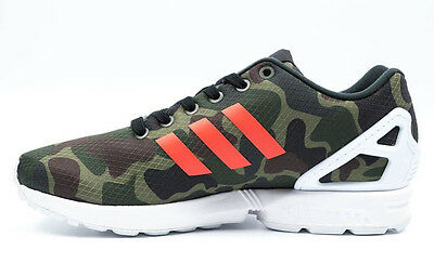 big sale 3dbb2 c3791 ~NEW~ADIDAS ZX FLUX CAMO Running 8000 TORSION 700 Camouflage gym Shoes~Mens  sz 9