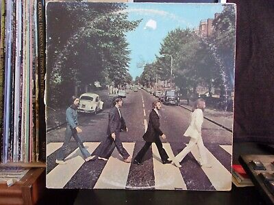 The Beatles Abbey Road LP 1970 pressing Her Majesty listed small Capitol logo
