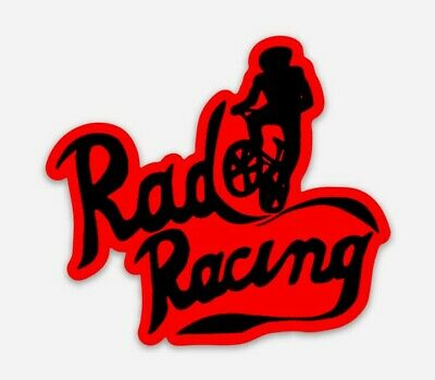 Rad Racing DieCut Vinyl Sticker Decal Sticker BMX 80s Movie