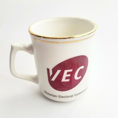 Victorian Electoral Commission VEC Coffee Mug Made In AUSTRALIA