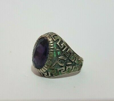 Extremely Rare Ancient Roman Old Ring Metal Artifact Museum Quality