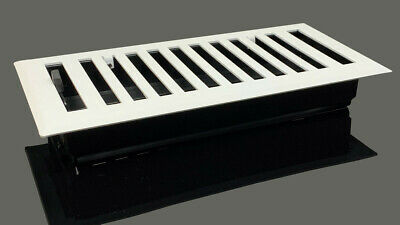 Madelyn Carter Modern Chic White Wall and Floor Vent Covers (Steel)