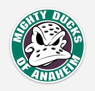 """You Choose Size 2/""""-28/"""" Anaheim Mighty Ducks NHL Color Die Cut Vinyl Decal"""