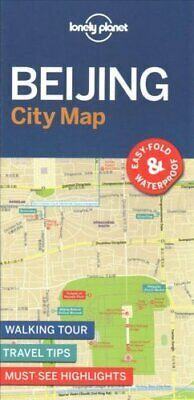 Lonely Planet Beijing City Map by Lonely Planet 9781786579157 | Brand New