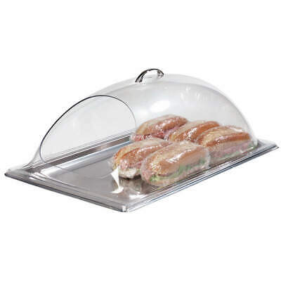 CARLISLE Polycarbonate End Cut Display Cover,21-1/4x13-3/8, PSD21EH07, Clear