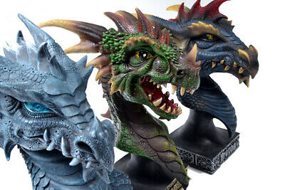 GOT Dragon Statue Bust Set of 3