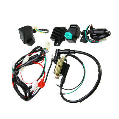 Replacement Wiring Harness Kit CDI Ignition 50cc 110cc 125cc ATV 1 set Durable