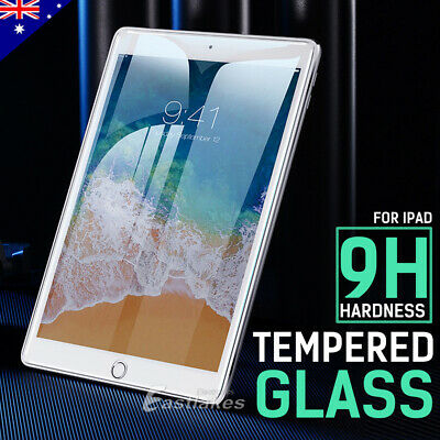 Tempered Glass Screen Protector For Apple iPad 5th 6th Gen 9.7 7th 10.2 Air 1 2