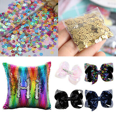 1000PCS Round Cup Sequins Paillettes Loose DIY Sewing Wedding Craft Acces
