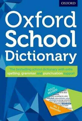 Oxford School Dictionary by Oxford Dictionaries 9780192743503 | Brand New