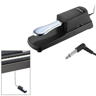 Tiger Universal Sustain Pedal - Piano Style Action for Keyboards Digital Pianos