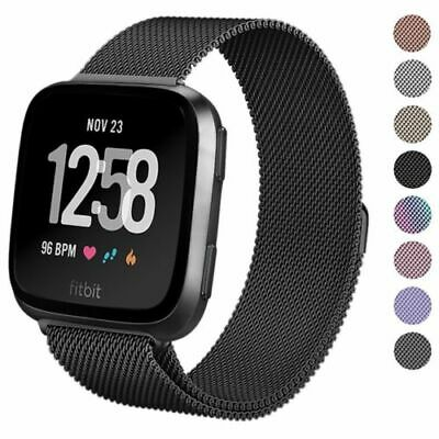 Replacement Woven Fabric / Milanese / Silicone Watch band For Fitbit Versa Strap