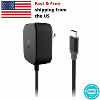 15W Fast Home Turbo Charger USB C Wall AC Plug For Motorola Moto Z Force Droid