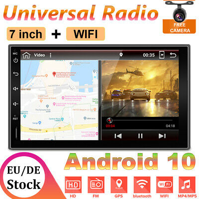32G Touchscreen Android 9.0 Autoradio 2DIN NAVI mit GPS WiFi for Universal Car