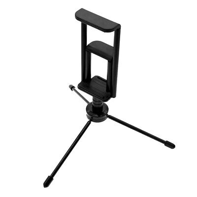 Universal Desk Camera Handheld Gimbal Tripod w/ 2-in-1 Smartphone Clamp