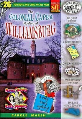 The Colonial Caper Mystery at Williamsburg by Carole Marsh 9780635068262
