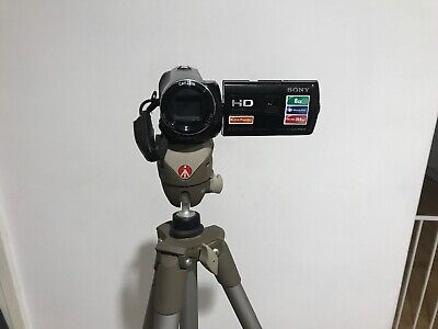 Sony Handycam HDR-PJ230 8GB Camcorder - Black. Comes With carry Case And Tripod