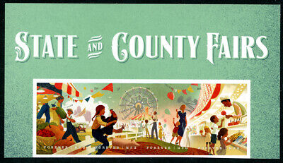 US Scott #5401-5405 State and County Fairs Top Strip of 4 MNH ***FREE SHIP***