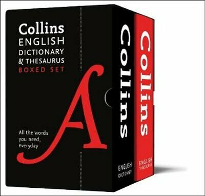 Collins English Dictionary and Thesaurus Boxed Set All the Word... 9780008309725