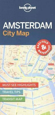 Lonely Planet Amsterdam City Map by Lonely Planet 9781786574091 | Brand New