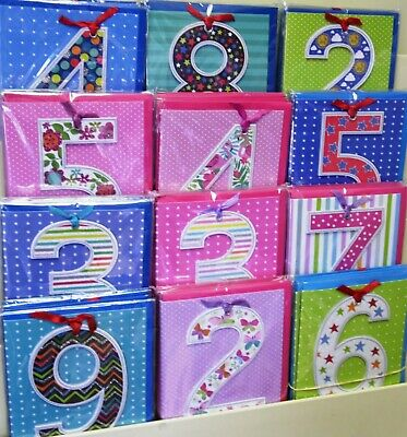AGE CARDS MIX 'LOLLYPOP' X 72, JUST 39p, HAND FINISHED, WRAPPED, EXCELLENT!
