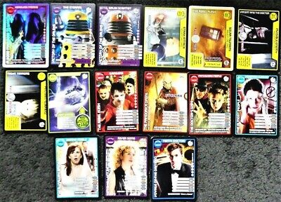 15 Doctor Who Monster Invasion Extreme Common Rare, Super Rare, Ultra Rare Cards