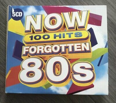 NOW 100 HITS FORGOTTEN 80S 5 CD - Various Artists - Pre Owned