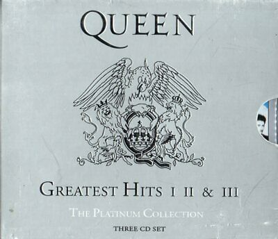 "Queen - ""Platinum Collection - Greatest Hits I II & III"" (3-CD-Box)"