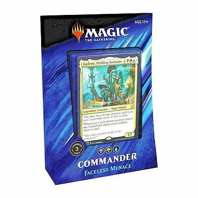 MTG - Magic The Gathering - Commander 2019 - Faceless Menace Deck -=NEW=-