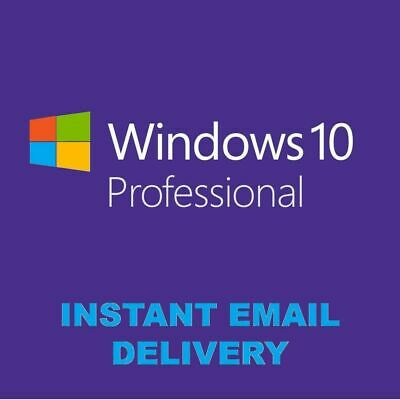 Winsows 10 Pro Key Retail instant Delivery Original License Worldwide