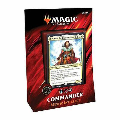 MTG - Magic The Gathering - Commander 2019 - Mystic Intellect Deck -=NEW=-