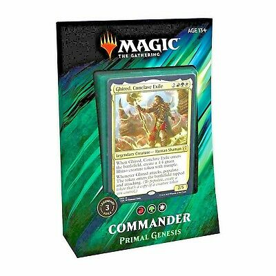 MTG - Magic The Gathering - Commander 2019 - Primal Genesis Deck -=NEW=-