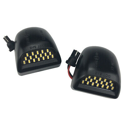 Chevy Silverado Avalanche BRIGHT SMD LED License Plate Lights Lamp 1999-2013.