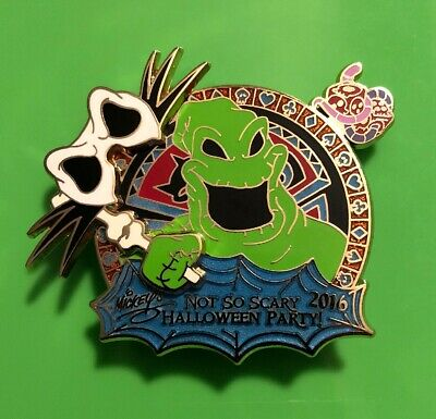 Disney Oogie Boogie Not So Scary Halloween Party Pin Nightmare Before Christmas