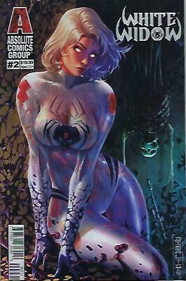 White Widow # 2 Mike Debalfo Lenticular Variant Cover Edition !!! Nm
