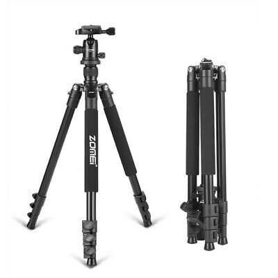 ZOMEI Q555 Travel Camera Tripod 63inch Lightweight Aluminum Alloy+Ball Head J1G0