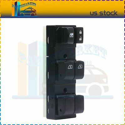 Fit For Nissan Murano 09-14 Front Left  Window Master Control Switch 25401-1AA5D